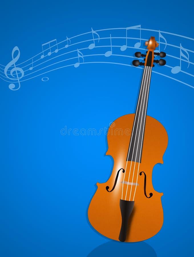 Violine instrumentell lizenzfreie abbildung