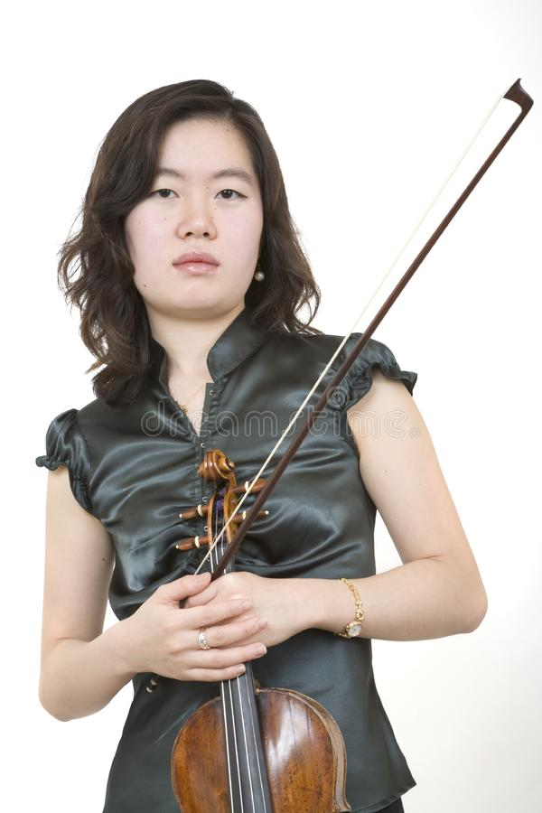 Violinist 1 stock photography