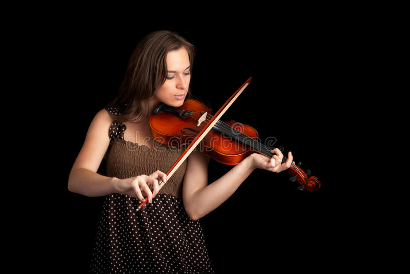 Violinist stockfotos