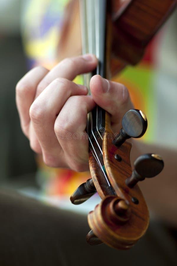 Violinist stockbild
