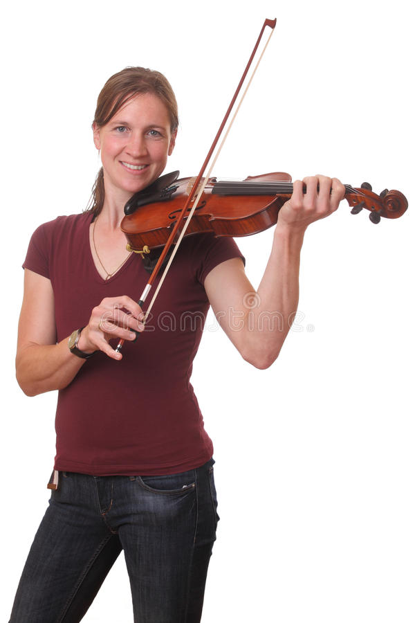Download Violinist stock photo. Image of beautiful, music, happy - 26643132