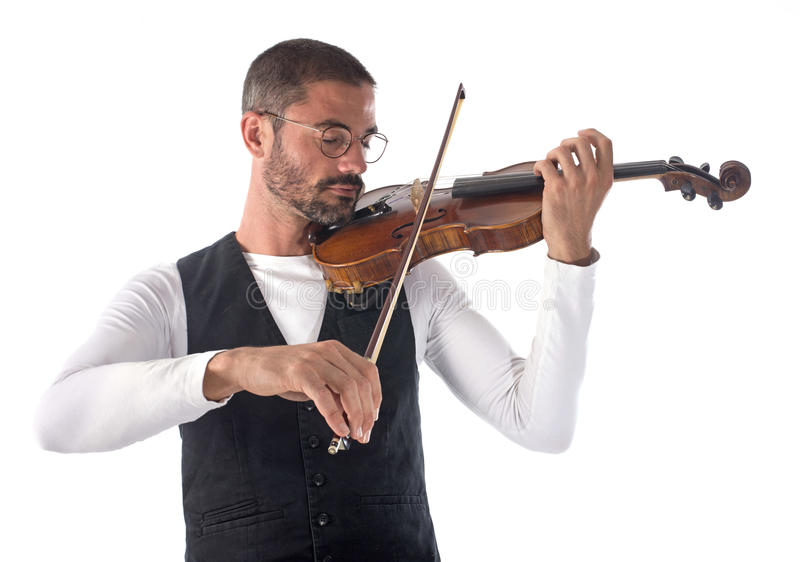violinist stock afbeelding