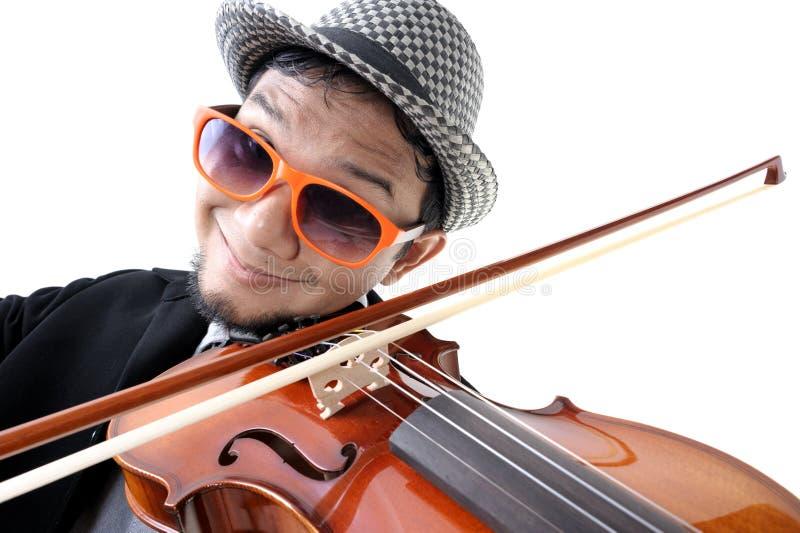 violinist royalty-vrije stock foto's