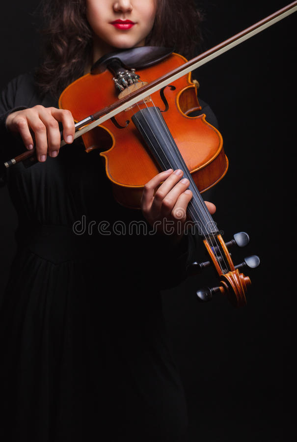 violinist photographie stock