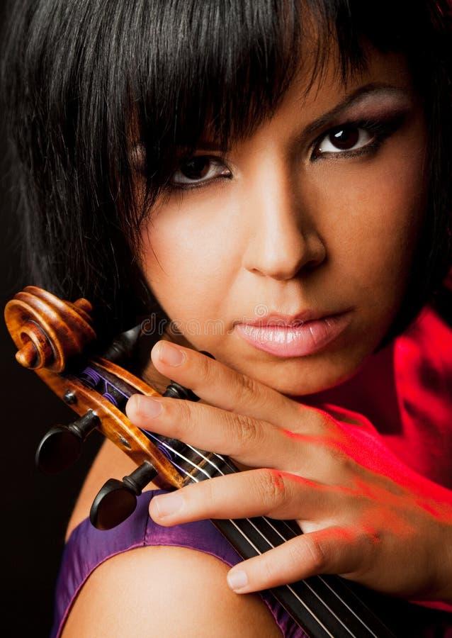 Violinista immagini stock libere da diritti