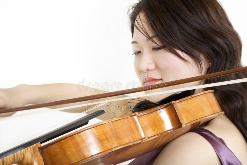 Violinista 5 immagine stock