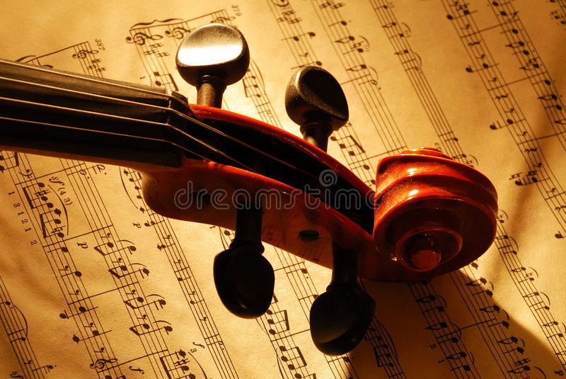 Violino 2 fotos de stock royalty free