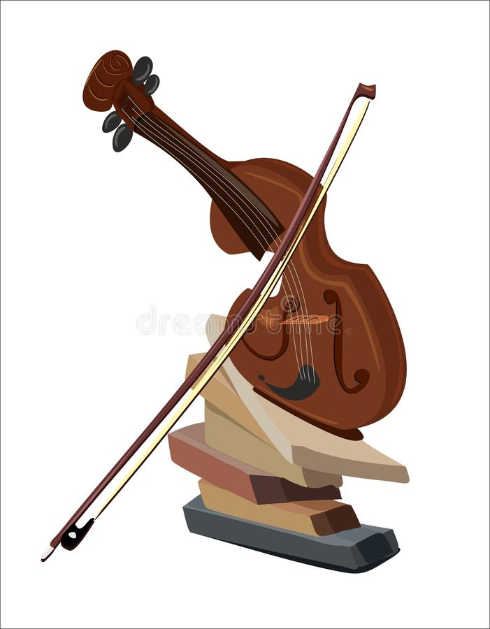 Violino 3 fotografia stock