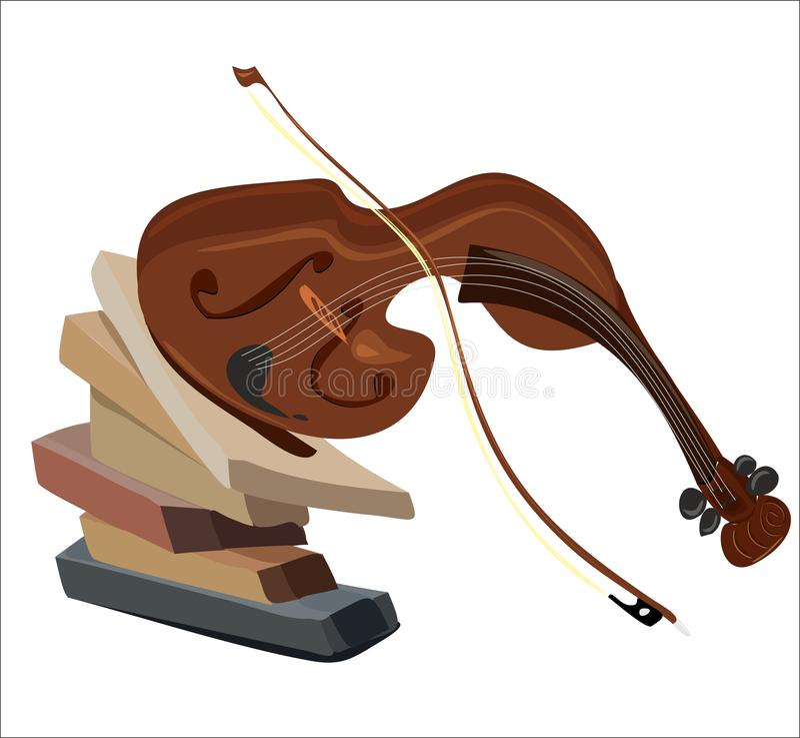 Violino 1 immagini stock