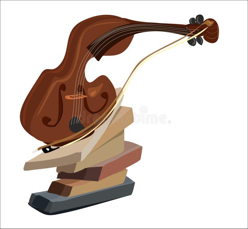 Violino 2 fotografia stock libera da diritti