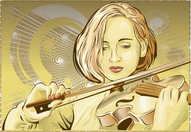 Violino fotografia stock libera da diritti