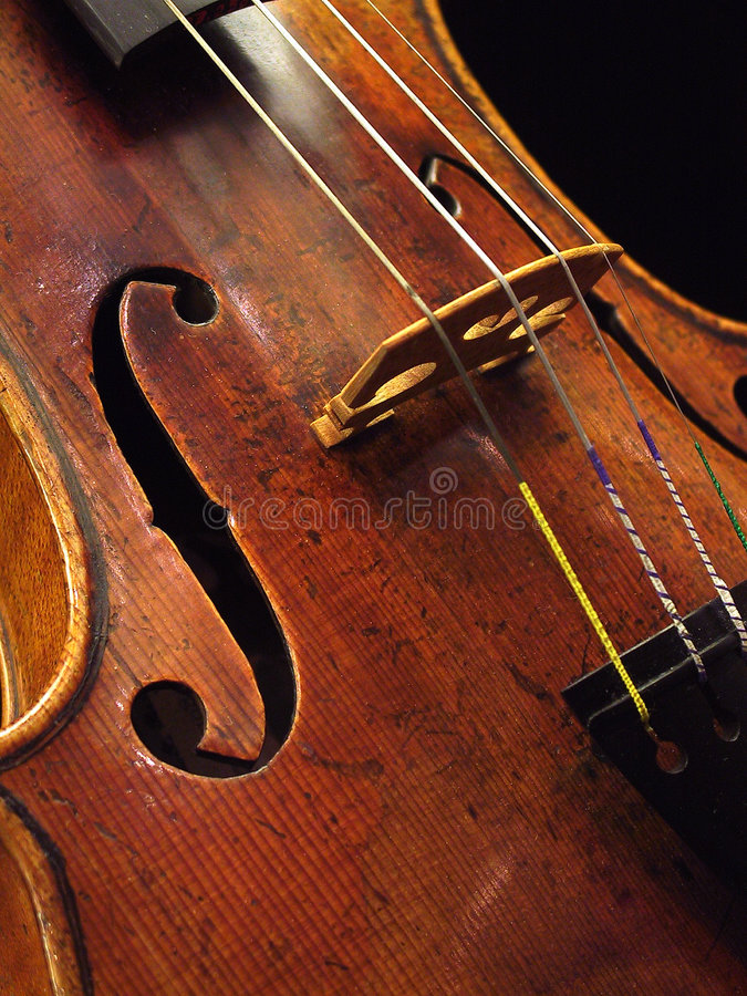 Violino antico immagine stock libera da diritti