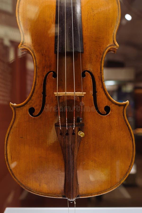 Violino, Antonio e Girolamo Amati, Cremona, Italia, 1628 fotografia stock libera da diritti