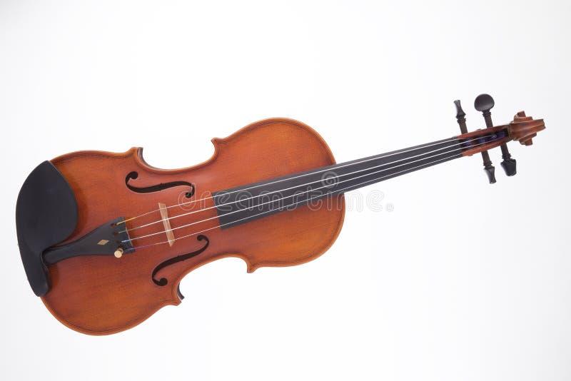 Violino da viola isolado no branco fotos de stock