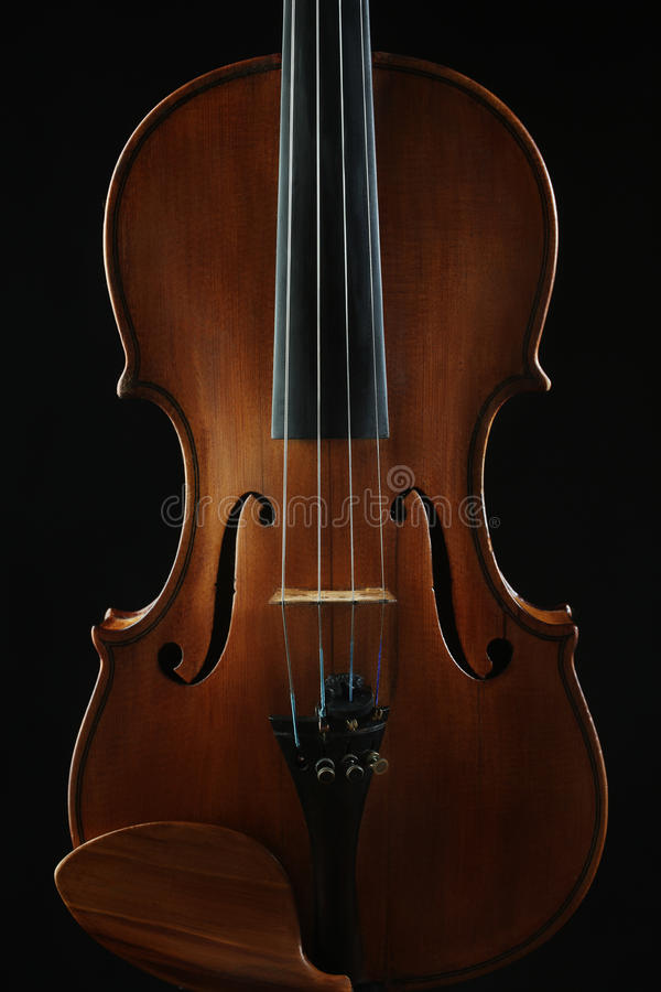 Violino degli strumenti musicali immagine stock libera da diritti