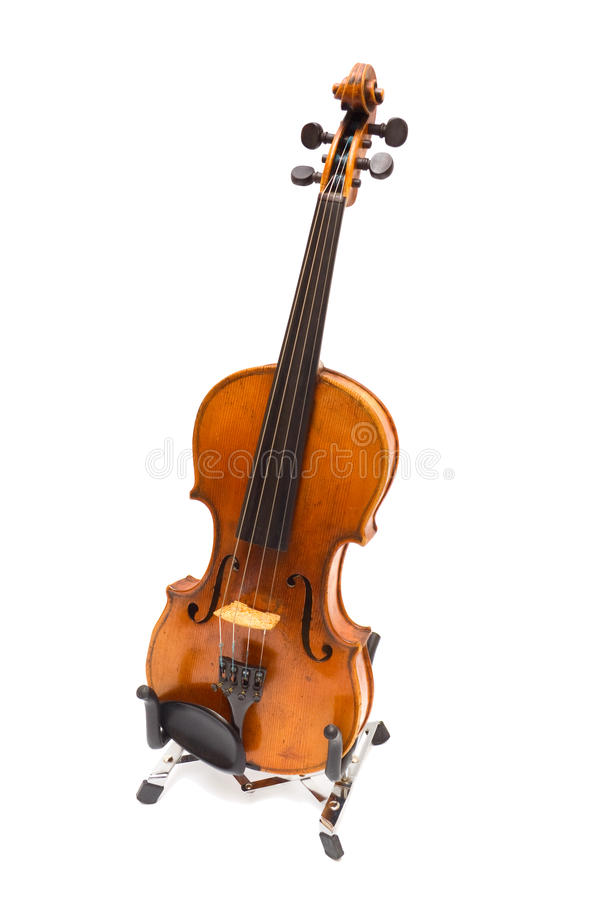 Download Violino Em Uma Sustentação. Iisolated Imagem de Stock - Imagem de único, desempenho: 12808197