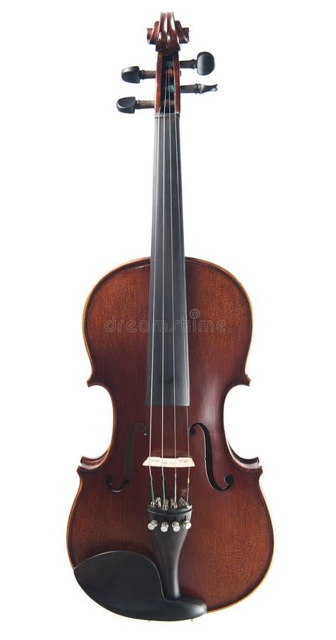 Violino velho isolado foto de stock royalty free