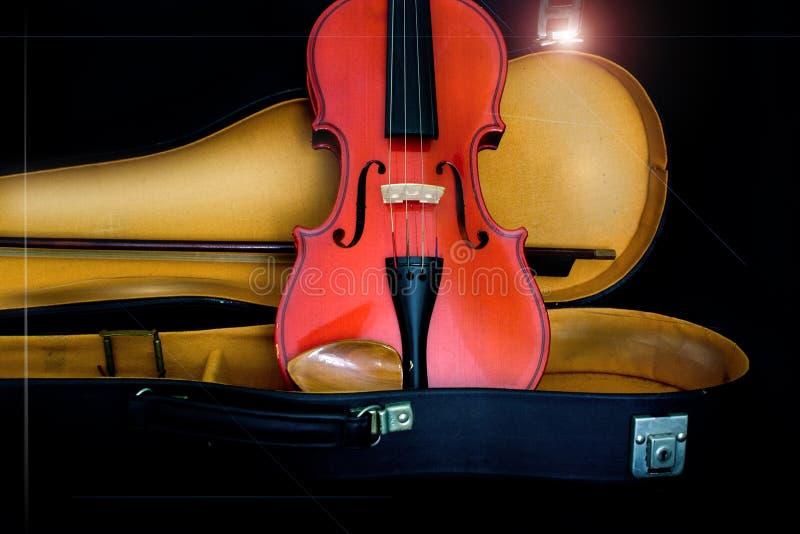 Violon antique image stock