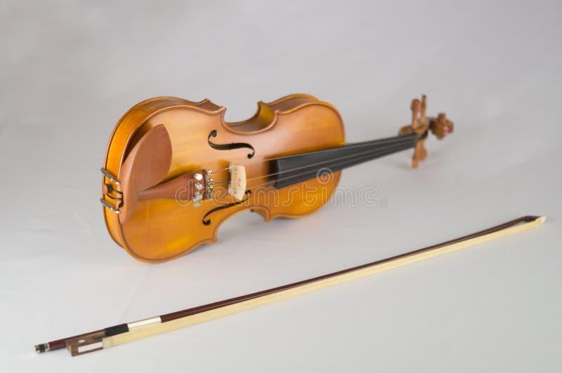 violon blanc de backround photo libre de droits