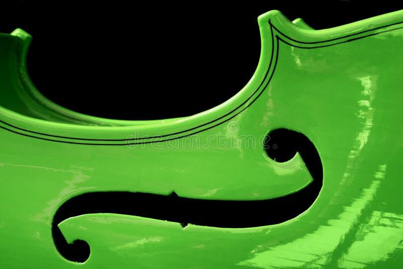 Violon vert images stock