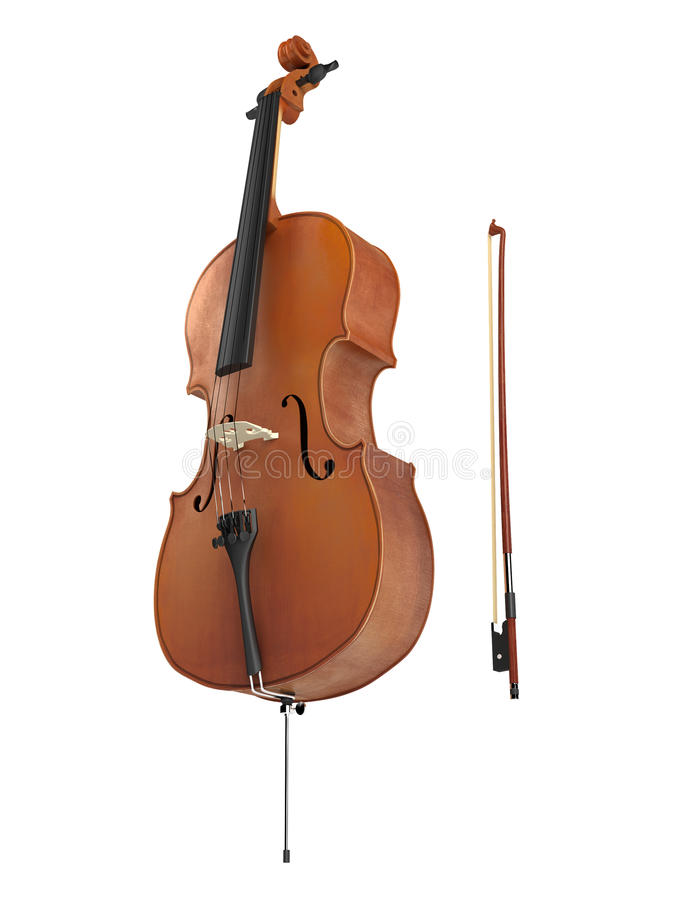 Violoncelle illustration libre de droits