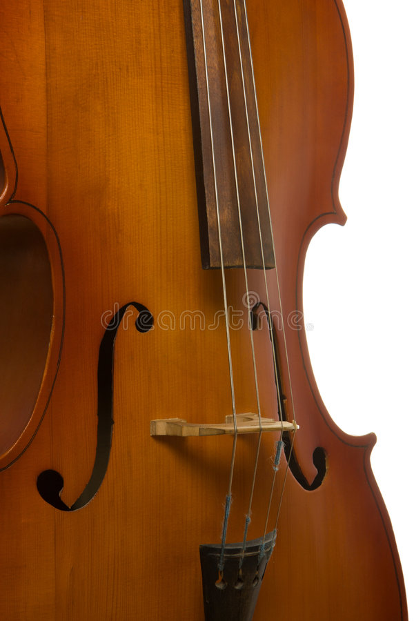 Violoncello dello strumento musicale fotografia stock