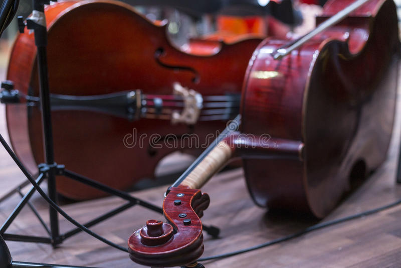 Violoncello stock photography