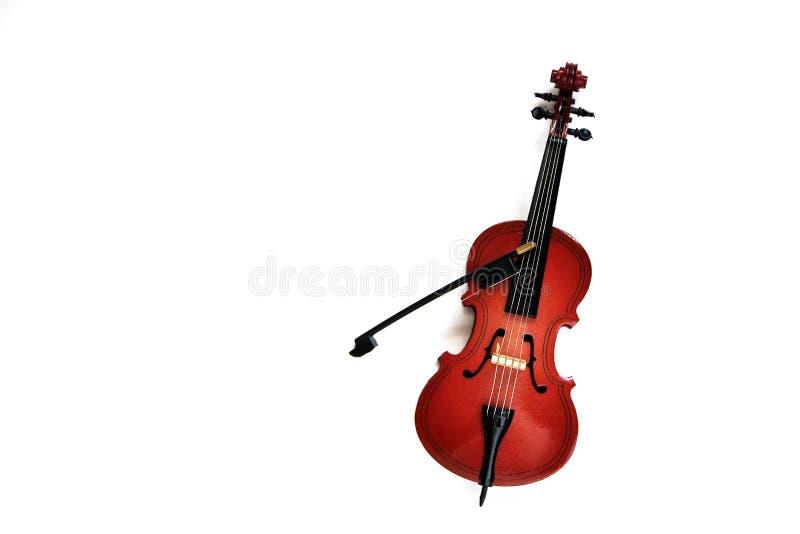 Violoncelo cl?ssico do instrumento da corda isolado no fundo branco fotos de stock