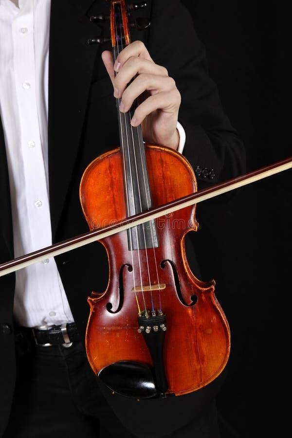Violonist royalty-vrije stock afbeeldingen