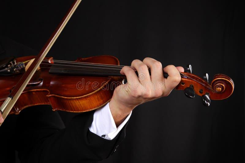 Violonist royalty-vrije stock foto's