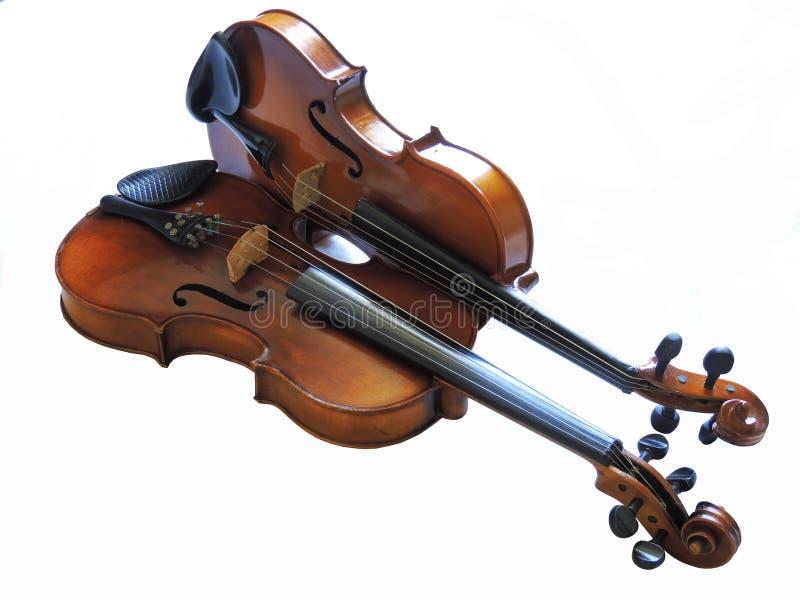 Viool Germain, klassiek muzikaal instrument royalty-vrije stock foto's