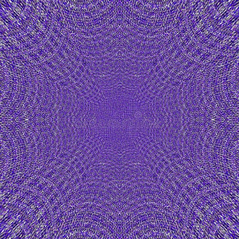 Viooltje en lavendelweb gebreid kader als achtergrond met textieleffect vector illustratie