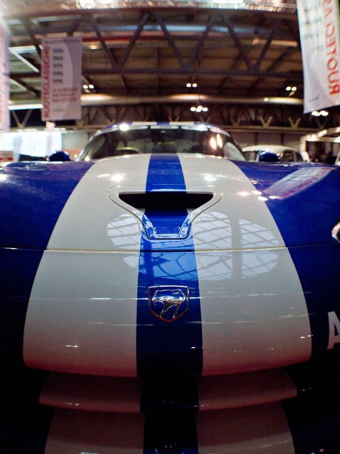 Vipère de Dodge à Milan Autoclassica 2016 images libres de droits
