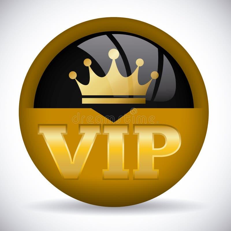 Vip成员 库存例证