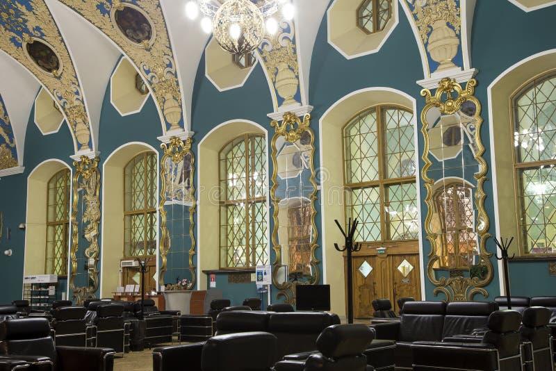 VIP-αίθουσα ή ένας υψηλότερος σταθμός Kazansky Kazansky άνεσης δωματίων σιδηροδρομικός vokzal --είναι ένα από εννέα τερματικά σιδ στοκ εικόνες με δικαίωμα ελεύθερης χρήσης
