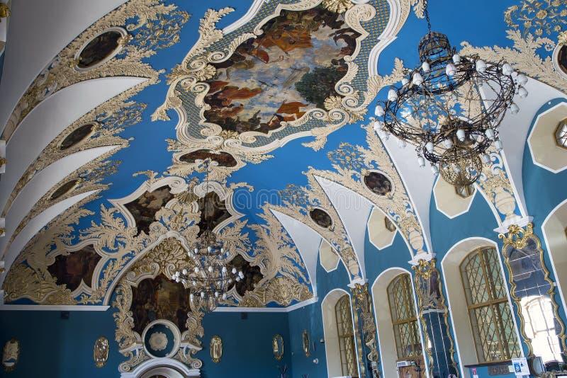 VIP-αίθουσα ή ένας υψηλότερος σταθμός Kazansky Kazansky άνεσης δωματίων σιδηροδρομικός vokzal -- είναι ένα από εννέα τερματικά σι στοκ φωτογραφίες