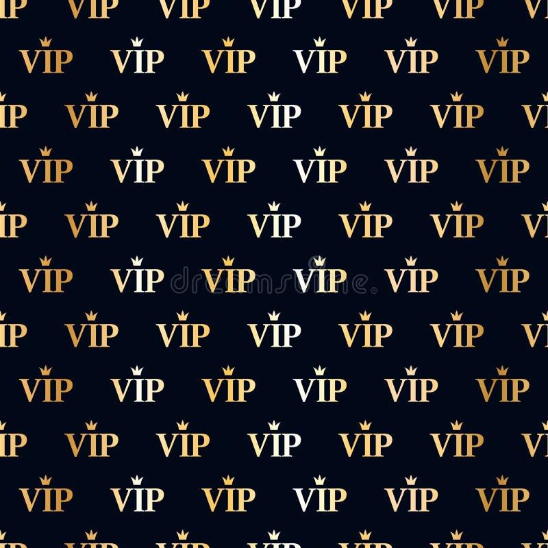 VIP αφηρημένο άνευ ραφής υπόβαθρο διανυσματική απεικόνιση