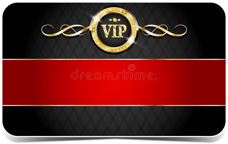 VIP κάρτα ασφαλίστρου διανυσματική απεικόνιση