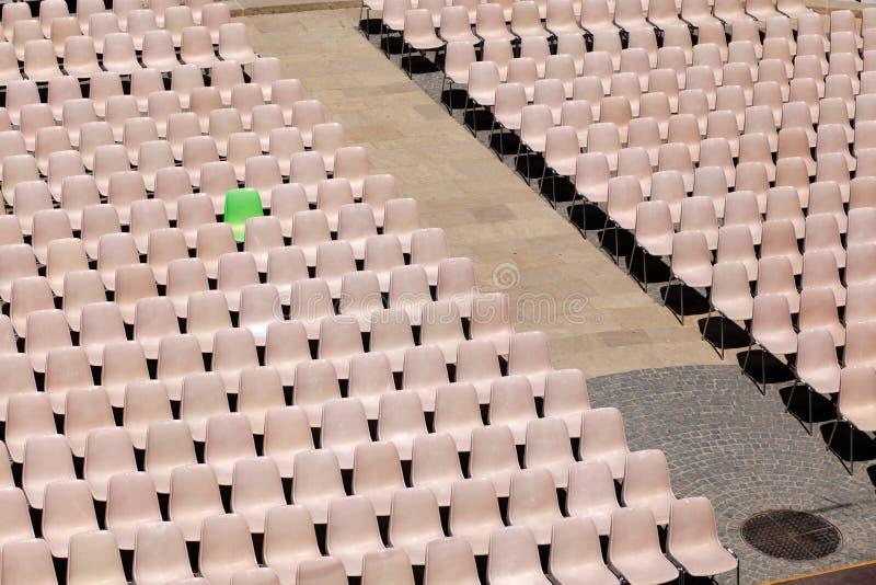 VIP καρέκλα. Πράσινος. στοκ εικόνες