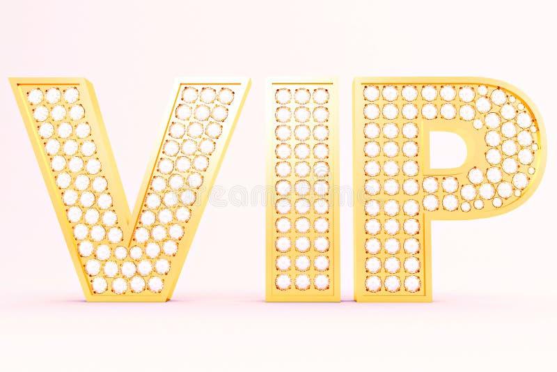 VIP vektor abbildung