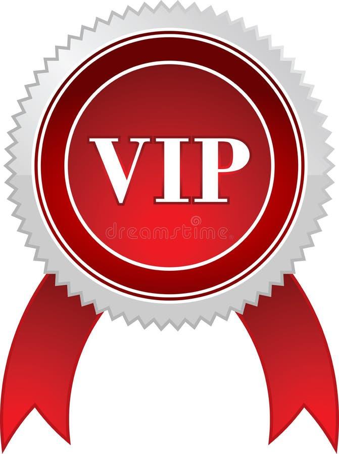 Vip badge vector illustration