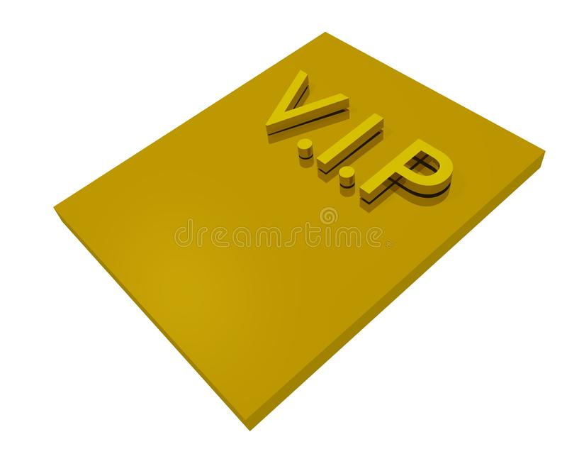 Download Vip card stock illustration. Image of membership, gold - 11607800