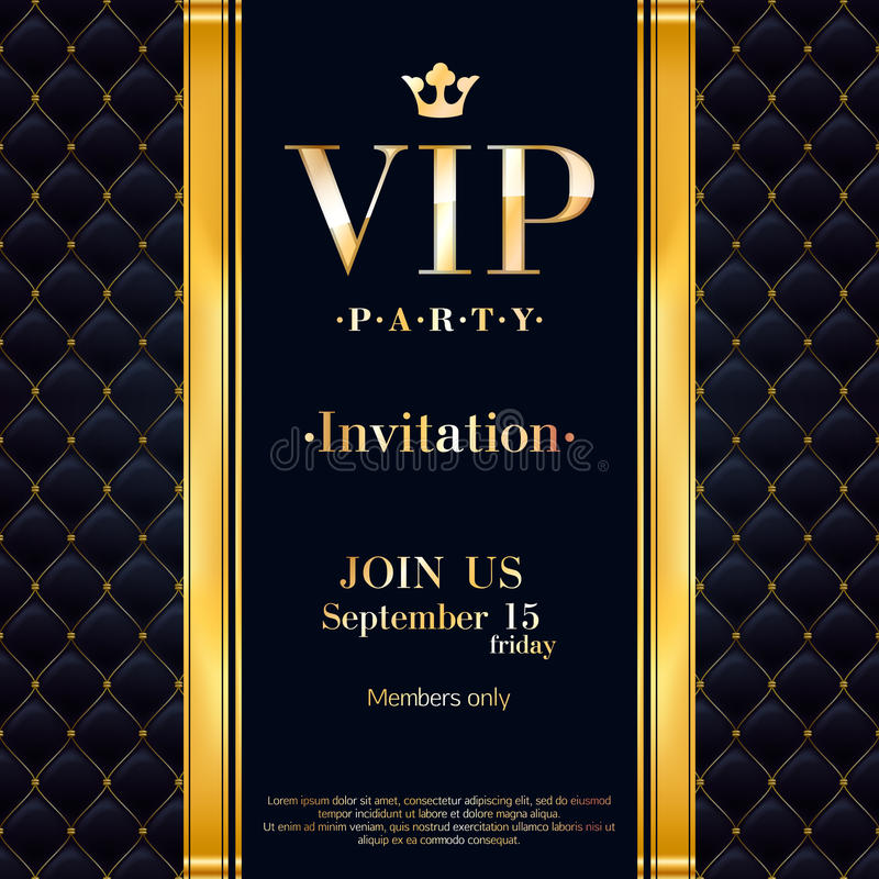 Vip invitation card premium design template stock vector download vip invitation card premium design template stock vector illustration of decoration letter spiritdancerdesigns Image collections