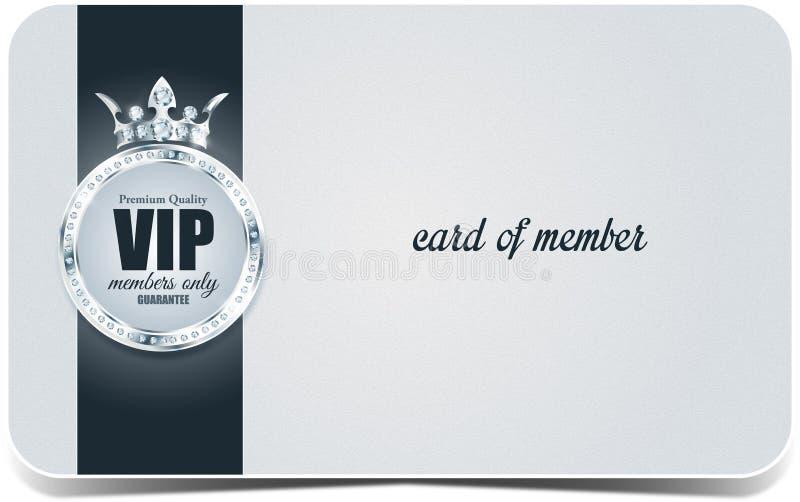 Vip-Karte Silberner Hintergrund Erstklassige Qualität krone lizenzfreies stockfoto