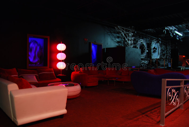 VIP Lounge stock photography