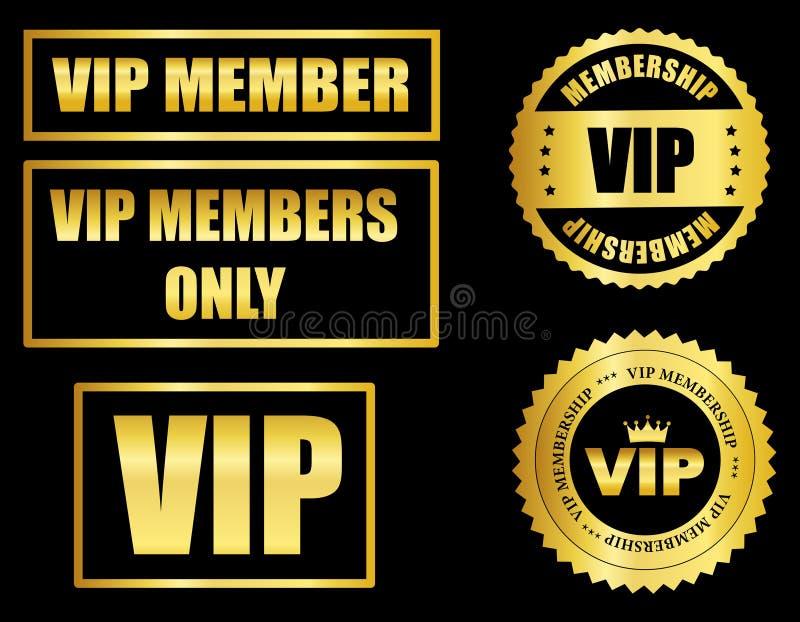 VIP membership vector illustration