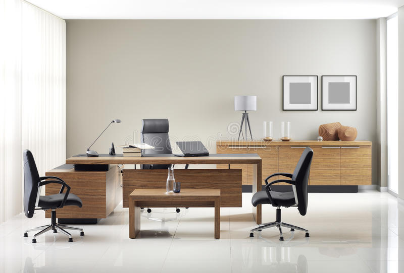 VIP office furniture royalty free stock photography