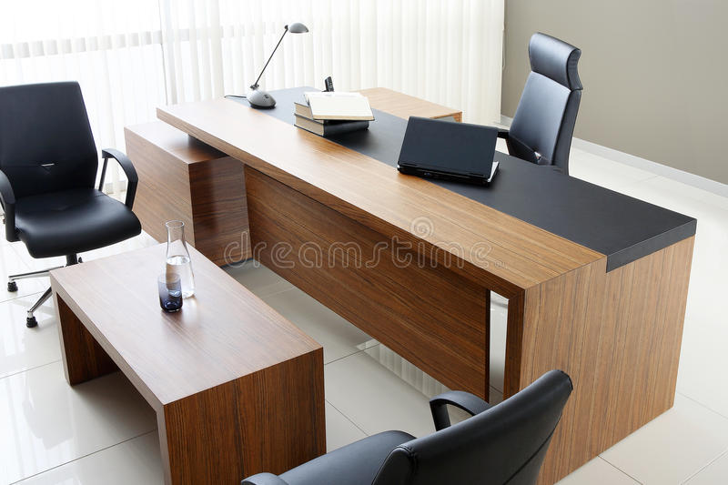 VIP office furniture. In the interior stock photography