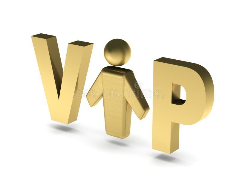 VIP osoba ilustracji