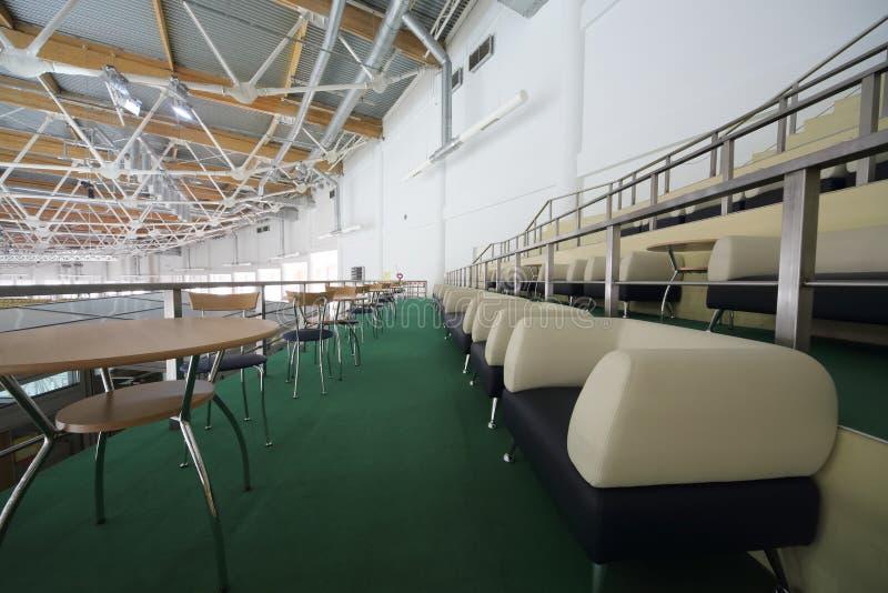 VIP siedzenia dla widzów w sporta kompleksie Krylatsky zdjęcie royalty free